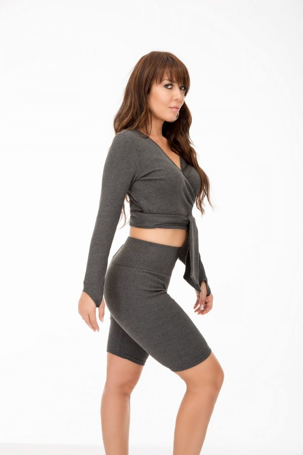 Twirl Top and Silhouette Shorts